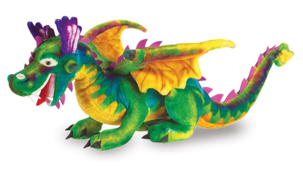 Melissa and Doug - Plush Stuffed Dragon