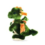 Steiff 17cm Raudi Dragon Boy Green