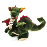 Steiff 40cm Rocky Dragon Green
