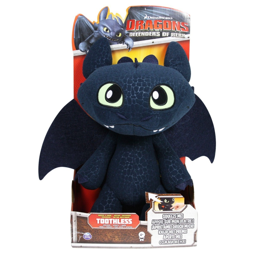 Toothless Soft Toy Picture 01